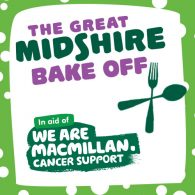 great midshire bake-off for macmillan