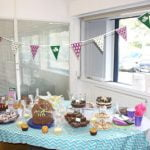 Baking competition entries at the Great Midshire Bake Off
