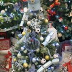 Francis House Festival of Christmas Trees - tree decorated by Manchester City Football Club