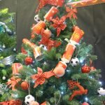 Francis House Festival of Christmas Trees - tree decorated by Manchester United Football Club