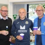 (pictured left to right) Stewart Yole from Midshire, with Dave Wardle, and Adrian